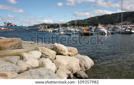 Beautiful seaport #109357982