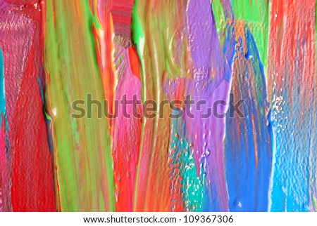 Abstract art backgrounds. Hand-painted background. SELF MADE. #109367306