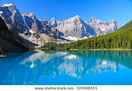 Lake Morraine, Banff National Park, AB #109408355