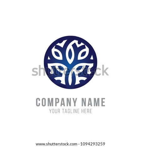 Flower logo Template  #1094293259