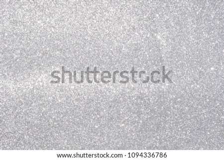 silver giltter texture abstract background #1094336786
