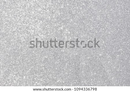 silver giltter texture abstract background #1094336798