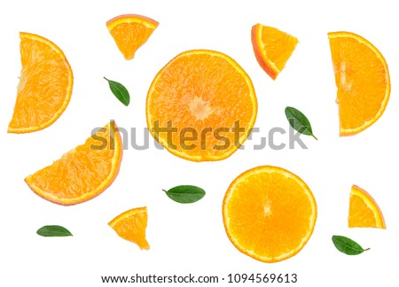 Citrus isolated on white. #1094569613