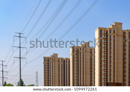 The high voltage line next to the cell #1094972261