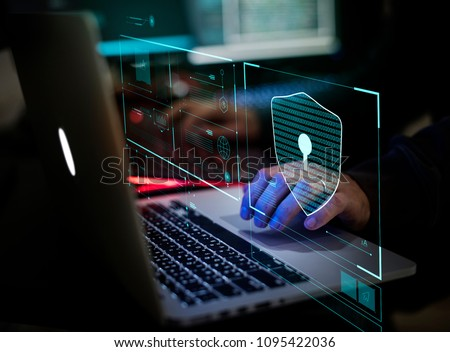 Digital crime by an anonymous hacker #1095422036