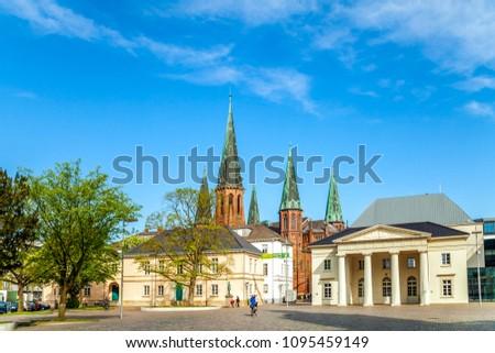 Oldenburg, Castle, Church, Germany  Royalty-Free Stock Photo #1095459149
