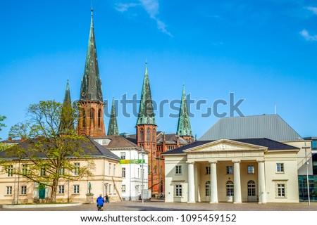 Oldenburg, Castle, Church, Germany  Royalty-Free Stock Photo #1095459152