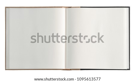 Book open isolated Royalty-Free Stock Photo #1095613577