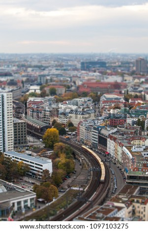 A view of Berlin #1097103275