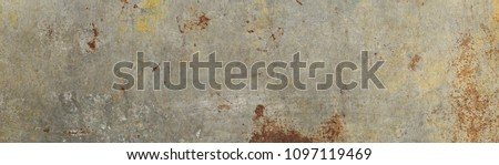 Large size, high resolution rusty metal texture. Suitable for graphic design, surface or pattern designs, print jobs and a lot more. Best for those who search for rusty, old, rough, metal textures. Royalty-Free Stock Photo #1097119469