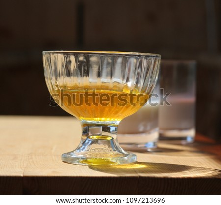 Honey on the table #1097213696