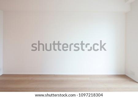 white new room #1097218304