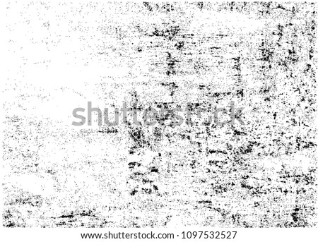 Distressed overlay texture.Grunge background.Abstract vector illustration. #1097532527