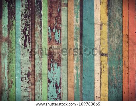 Wood material background for Vintage wallpaper #109780865