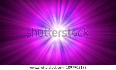 star ray in space