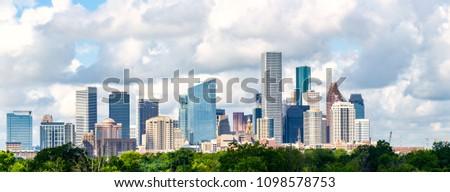 Houston, skyline cityscape