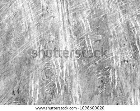 Grunge abstract black background on white backdrop. Two colors. Rectangular horizontal medium rough noise design. #1098600020