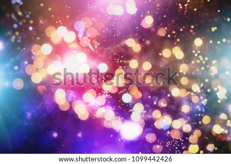 Bokeh with multi colors, Festive lights bokeh background, Defocused bokeh lights, Blurred bokeh,  #1099442426