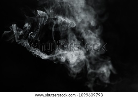 Smoke on black background   #1099609793