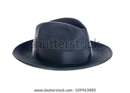 hat isolated on a white background #109963880