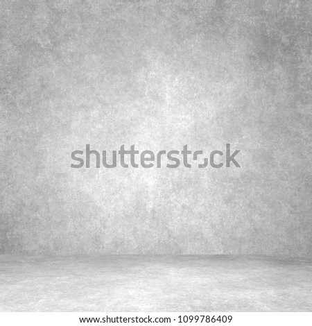 Designed grunge texture. Wall and floor interior background #1099786409