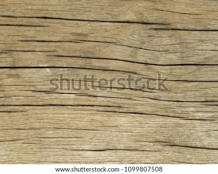 Wood surface texture with cracks. Wooden flooring background #1099807508