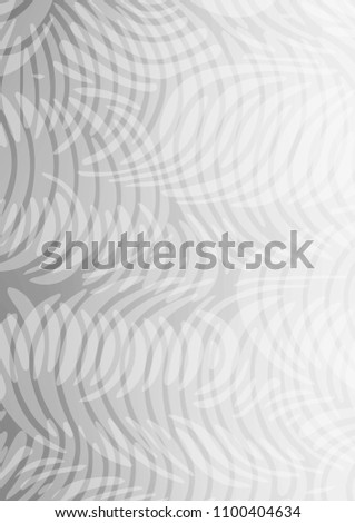 Light Silver, Gray doodle blurred background. Ethnic elegant natural pattern with gradient. The pattern can be used for wallpapers and coloring books. #1100404634