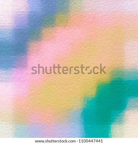 Color pastel splashes Sample Surface for your design. Gradient background texture is blurry. Low poly consisting .Beautiful. Used for paper design, book. in abstract shape Website work, stripes, tiles #1100447441