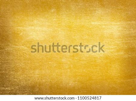 Gold  foil texture background #1100524817