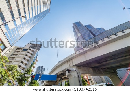 Urban skyscraper groups #1100742515