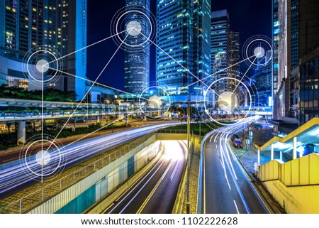 technology for smart city conceptual #1102222628