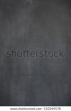 blank slightly dirty blackboard / chalkboard