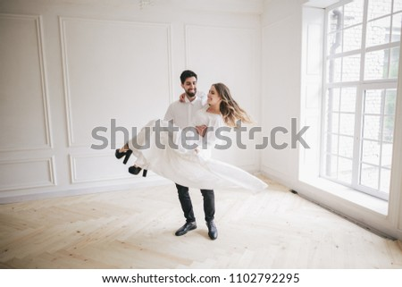 guy and girl with white #1102792295