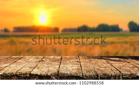 Empty table background #1102988558