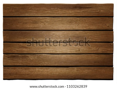 Realistic vector wooden background. Highly detailed, photorealistic. Hand drawn without trace. #1103262839