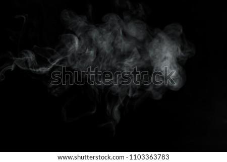 Smoke on black background   #1103363783
