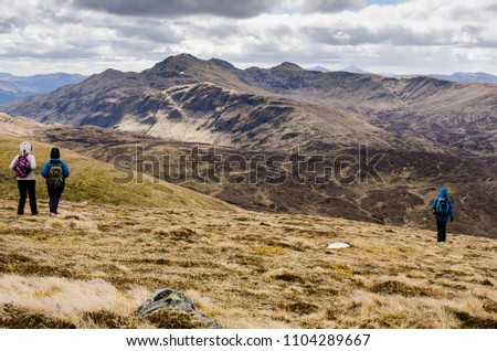 Hiking in Scotland #1104289667