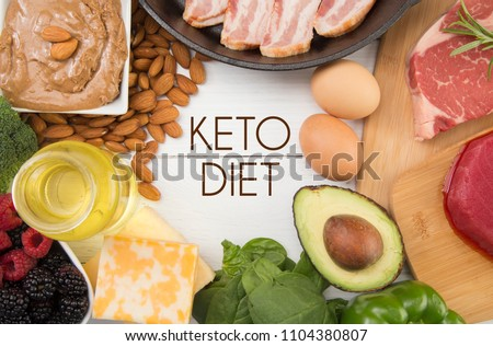 Various Foods that are Perfect for the Keto Diet #1104380807