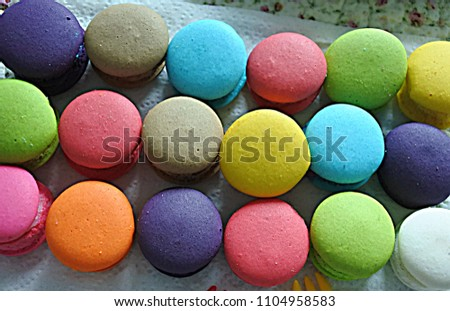 Macaroon  colorful and sweet #1104958583