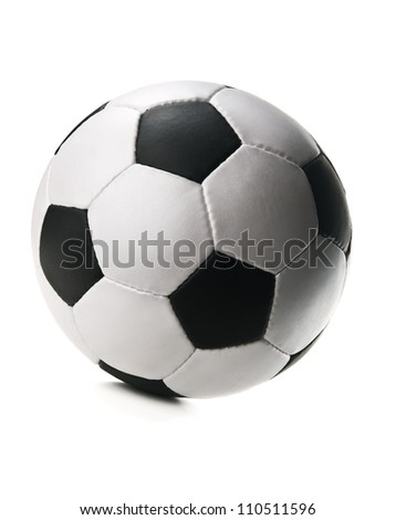 soccer ball isolated on white background #110511596