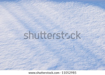 shadow on surface of snow, background #11052985