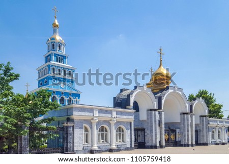 Cathedral of the Dormition of the Theotokos — Orthodox Cathedral of Tashkent and Uzbekistan diocese of the Central Asian Metropolitan district of the Russian Orthodox Church, Tashkent (Uzbekistan) #1105759418