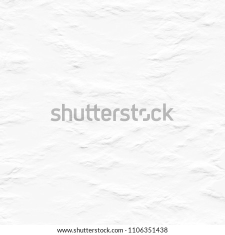 White texture background, Abstract grunge surface wallpaper of stone wall, paper, cement. Illustration design element. #1106351438
