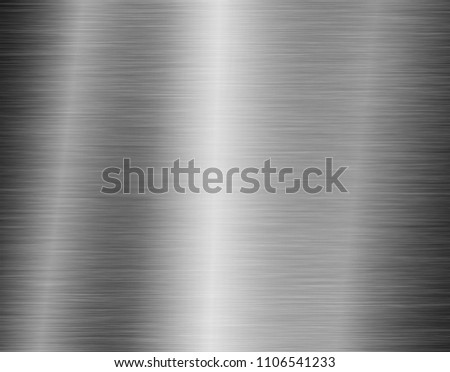 texture metal background of brushed steel plate #1106541233