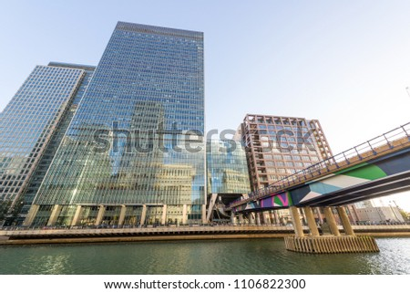 Commercial building in London. #1106822300