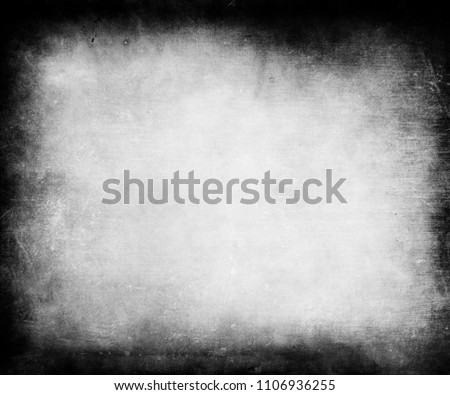 Grunge background with black frame and space for your text or picture, scratched texture