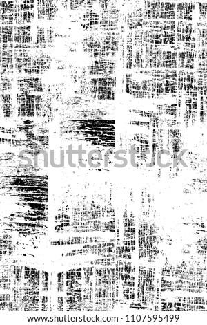 Grunge black and white pattern #1107595499
