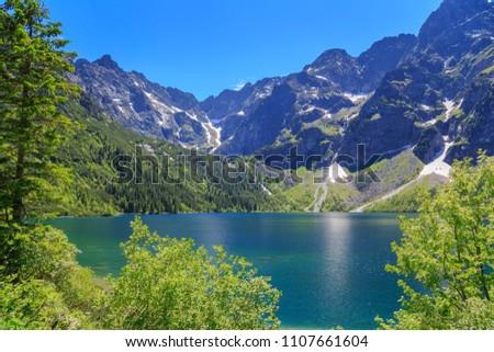 Tatra Mountains in Poland #1107661604