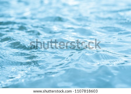 water of Still blue abstract background #1107818603