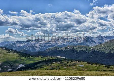 Rocky Mountain National Park Estes Park Colorado Royalty-Free Stock Photo #1108239680